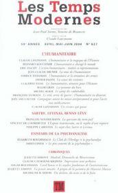 REVUE LES TEMPS MODERNES N.627 ; Janvier, Février 2004 - Intérieur - Format classique