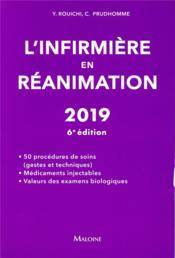 L'infirmière en réanimation (6e édition) - Couverture - Format classique