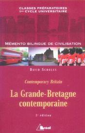 Memento Bilingue De Civilisation (3e édition) - Intérieur - Format classique