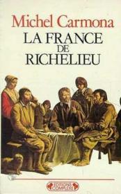 La france de richelieu (la) - Couverture - Format classique