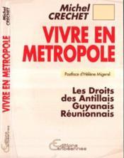Vivre En Metropole - Couverture - Format classique