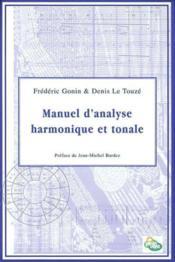 Manuel d'analyse harmonique et tonale - Couverture - Format classique