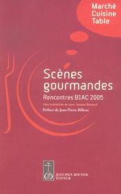 Scènes gourmandes ; marché, cuisine, table - Intérieur - Format classique