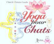 Yoga pour chats - Intérieur - Format classique