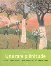 Une Rare Plenitude ; Les Artistes De Laethem - Intérieur - Format classique