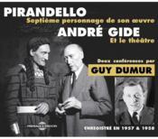 Pirandello et le théâtre d'André Gide - 4ème de couverture - Format classique