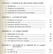 La constitution des molécules - Intérieur - Format classique