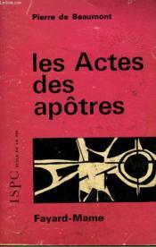 Les Actes Des Apotres . - Couverture - Format classique