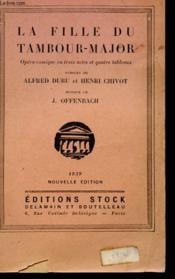La Fille Du Tambour-Major - Couverture - Format classique