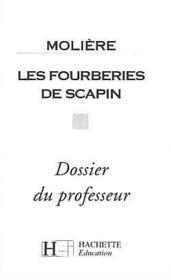 Les fourberies de scapin - dossier du professeur - Couverture - Format classique