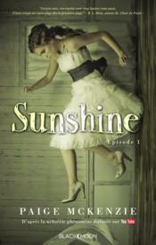 Sunshine t.1 - Couverture - Format classique