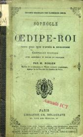 OEDIPE-ROI, Texte Grec - Couverture - Format classique