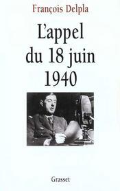 L'appel du 18 juin 1940 - Intérieur - Format classique