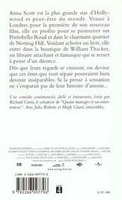 Coup De Foudre A Notting Hill - 4ème de couverture - Format classique
