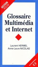 Glossaire Multimédia Et Internet - Couverture - Format classique