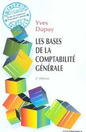 Les bases de la comptabilite generale - Intérieur - Format classique