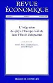 Revue economique vol.50 t.6 - Couverture - Format classique