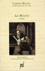 La misère, roman social - Intérieur - Format classique