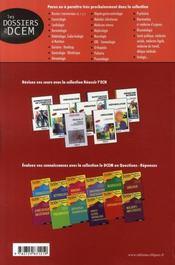 Diabétologie, endocrinologie et nutrition - 4ème de couverture - Format classique