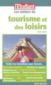 Les métiers du tourisme et des loisirs - Couverture - Format classique