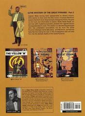 Blake and Mortimer - 4ème de couverture - Format classique