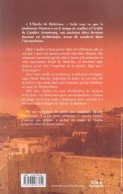 L'etoile de babylone - 4ème de couverture - Format classique