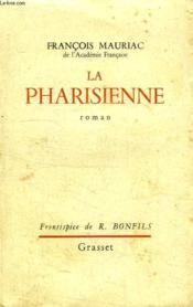 La Pharisienne. - Couverture - Format classique