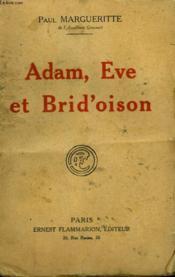 Adam, Eve Et Brid'Oison. - Couverture - Format classique