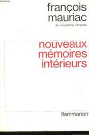 Nouveaux Memoires Interieurs. - Couverture - Format classique