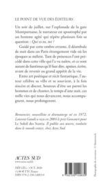 Paris, mille vies - 4ème de couverture - Format classique