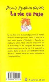 Filles t.12 ; la vie en rose - 4ème de couverture - Format classique