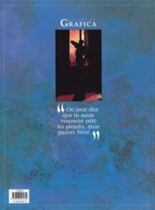 Névé t.5 ; noirs desirs - 4ème de couverture - Format classique