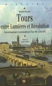 Tours entre lumières et révolution - Intérieur - Format classique