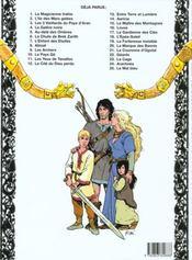 Thorgal T.18 ; l'épée soleil - 4ème de couverture - Format classique