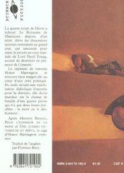 Honor Harrington T.4 ; Au Champ Du Deshonneur - 4ème de couverture - Format classique