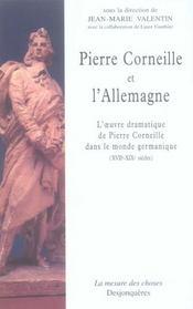 Pierre Corneille et l'Allemagne - Intérieur - Format classique