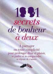 1001 secrets de bonheur à deux - Couverture - Format classique