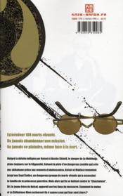 Shikabane hime t.3 - 4ème de couverture - Format classique