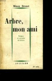 Arbre, Mon Ami. - Couverture - Format classique