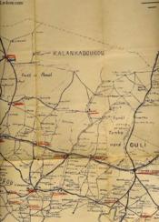 Carte De Cercle De Tambacounda - Echelle 1 / 500.000 - Couverture - Format classique