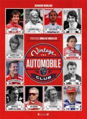 Vintage automobile club - Couverture - Format classique