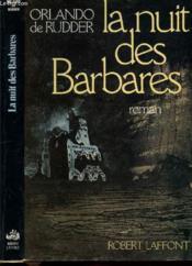 La nuit des barbares - Couverture - Format classique