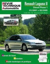 Rta 653.2 Renault Laguna 2 Diesel Depuis 01/01 - Couverture - Format classique