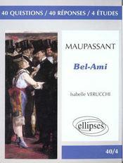 Bel-Ami de Guy de Maupassant - Intérieur - Format classique