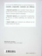 Bel-Ami de Guy de Maupassant - 4ème de couverture - Format classique
