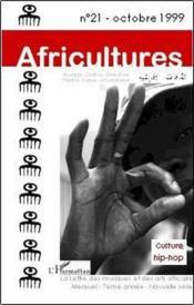 Revue Africultures N.21 ; Culture Hip-Hop - Couverture - Format classique