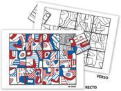 Puzzle à la manière de... Dubuffet - Couverture - Format classique