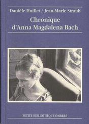 Chronique D'Anna Magdalena Bach - Intérieur - Format classique