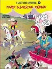 Lucky Luke T.9 ; the wagon train - Couverture - Format classique