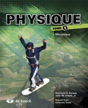 Physique t.1 ; mécanique (4e édition) - Couverture - Format classique